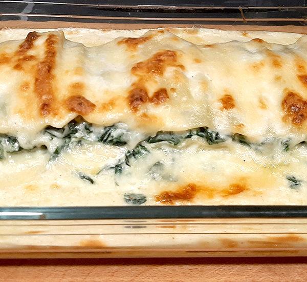 recepta lasanya espinacs