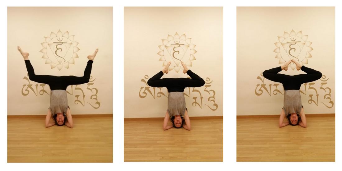 postures invertides